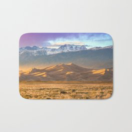 Deer and the Dunes Bath Mat