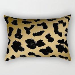 Cheetah ombre fur pattern 2.0 Rectangular Pillow