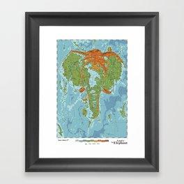 Elephantidae Framed Art Print