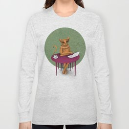 busy pretending Long Sleeve T-shirt