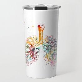Anatomical Lungs Travel Mug