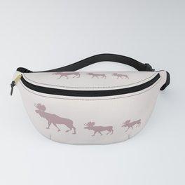 Moose (Rustic) Fanny Pack