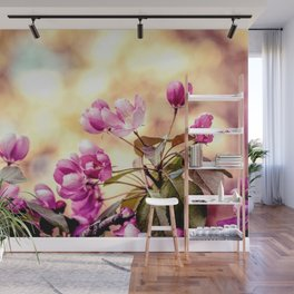 Paradise Apple Blossoms Wall Mural