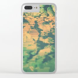 clovers. Clear iPhone Case