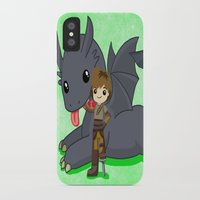 how to train your dragon iPhone & iPod Cases featuring How to Train Your Dragon 2 by Mayying