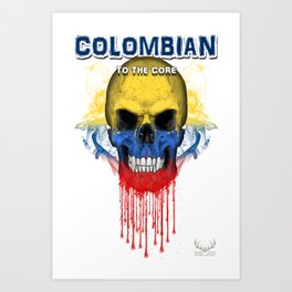 To The Core Collection: Colombia Art Print