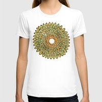 70s T-shirts featuring Peacock Mandala – 70s Palette by Cat Coquillette