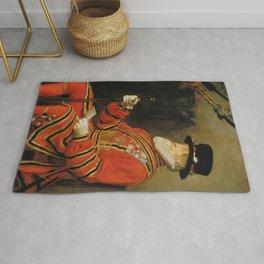 John Everett Millais - The Yeoman of the Guard Rug