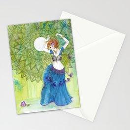 Belly Dancer Goddess Stationery Cards