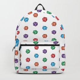 D20 multiple dice non-linear Backpack
