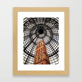 Inside Tower Framed Art Print