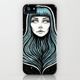 The Girl With No Body iPhone Case