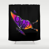 celtic Shower Curtains featuring Celtic Butterfly by Knot Your World