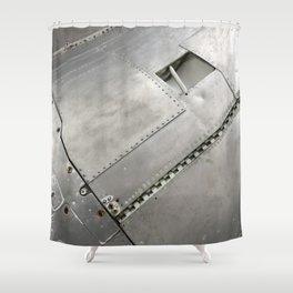 Rivet World. Fashion Textures Shower Curtain