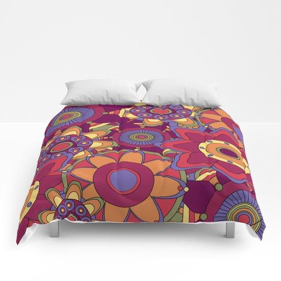 Flower 16 Comforters