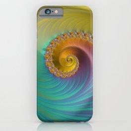 Tropical Bird - Fractal Art  iPhone Case