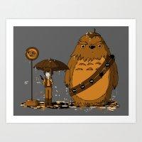 My Neighbour Chewie II Art Print