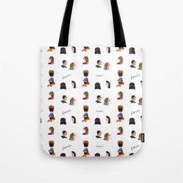 Faces of Spain Tote Bag