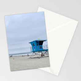 California lifeguards Stationery Cards
