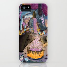 Talitha and Nihal iPhone Case