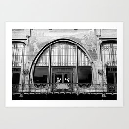Art Nouveau in Antwerp Art Print