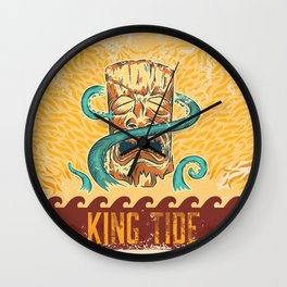 King Tide Wall Clock