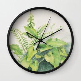 Woodland Watercolour Wall Clock