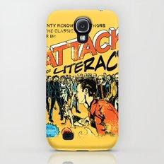 Attack of Literacy Galaxy S4 Slim Case