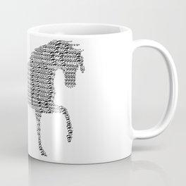 Educated Horse Coffee Mug