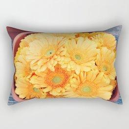 Orange germini Rectangular Pillow