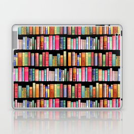 Vintage Book Library for Bibliophile Laptop & iPad Skin