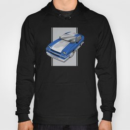 86 L-Body Charger Blue Hoody