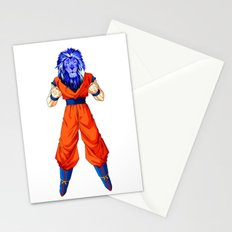 Lion fighter Stationery Cards