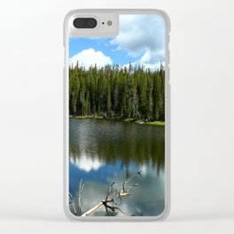 Serenity At West Gull Drive - Yellowstone National Park Clear iPhone Case