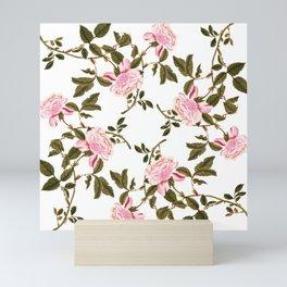 Rose Garden Blanc Mini Art Print
