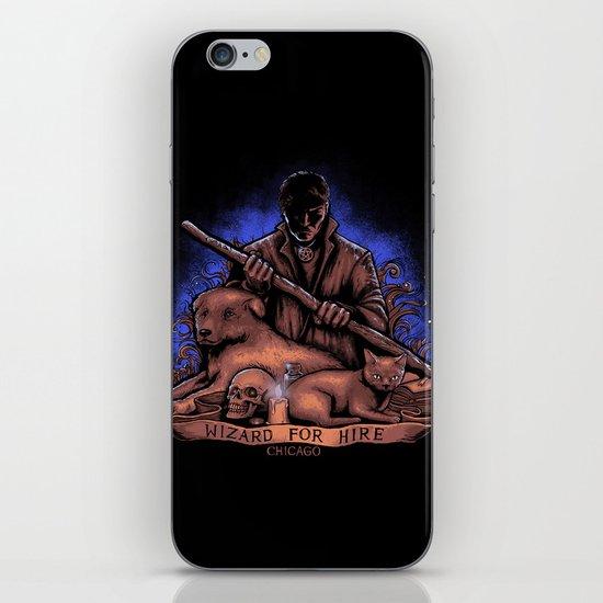 Wizard For Hire iPhone & iPod Skin