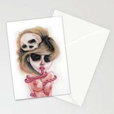Ghostly Dull Senses Stationery Cards