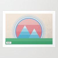 Geometric Beauty Art Print