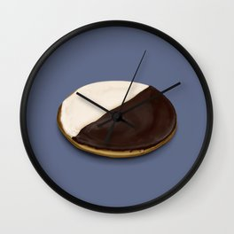 The Black & White Cookie Wall Clock