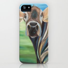 Cow Eyes iPhone Case