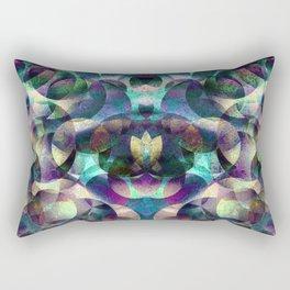 Aquarian Patchwork Rectangular Pillow