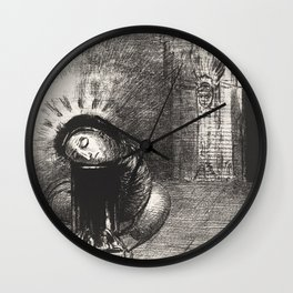 A Long Chrysalis Wall Clock