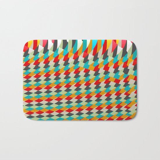 triangle color 4 Bath Mat