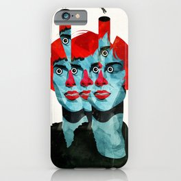 The cats in my head iPhone Case