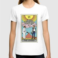 tarot T-shirts featuring The Lovers - Tarot Card by kamonkey