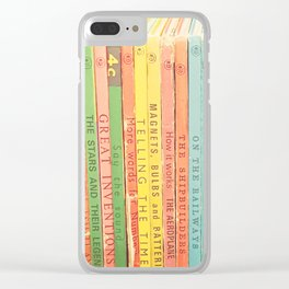 Storytime Clear iPhone Case