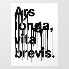 ALVB Art Print