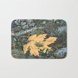 ian leaf Bath Mat