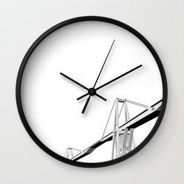 Maracaibo Lake Bridge Wall Clock