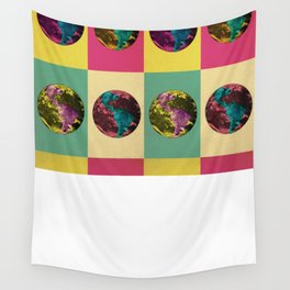 Planet Color Wall Tapestry